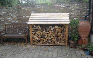 Log Stores and Wood Storage - Classic A1 Log Store